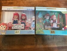 Barbie Hansel & Gretel and Raggedy Ann & Andy Collector Edition Dolls