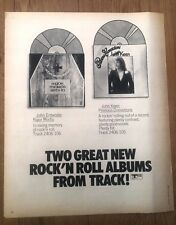 JOHN ENTWISTLE (The WHO) Rigor Mortis magazine ADVERT/clipping 12x10 inches