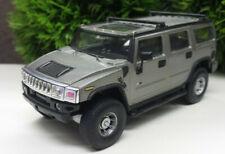 Hummer H2 Hongwell 1:43 Modellauto Cararama silber grau