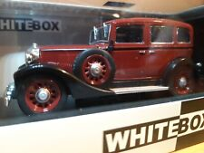 Volvo PV 654 1933 Black Model Car Red WB191 Whitebox 1: 43 (016)