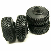"4PCS 100mm OD Tyres Tire For RC 1/10 1.9"" Beadlock Wheels AXIAL SCX10 D90 CC01"