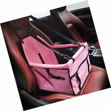 Hippih Collapsible Pet Booster Car Seat Cat Car Carrier with Sa. Free Shipping
