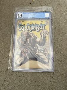G.I. Combat #78 Silver Age DC CGC 4.0 Grey Tone Cover