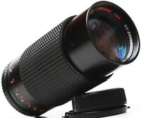 Albinar 80-200mm F/3.9 Minolta MD Mount Zoom Lens For DSLR M4/3 Camera + Samples