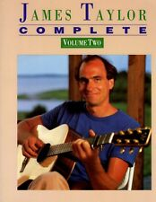 James Taylor Complete Vol Two Songbook Music Book Piano Vocal Guitar