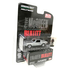 GREENLIGHT 51207 BULLITT 1968 FORD MUSTANG GT 1/64 w STEVE MCQUEEN FIGURE Chase