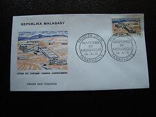 MADAGASCAR - enveloppe 14/4/71 - usine de chrome - yt n° 485 - (cy5) (E)