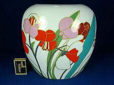 """Well shaped Wolf Bauer """" springflower """" design Rosenthal Porzellan vase 2666"""
