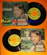 LP 45 7'' PEPPINO GAGLIARDI Ricordando Come un ragazzino 1973 italy cd mc dvd*