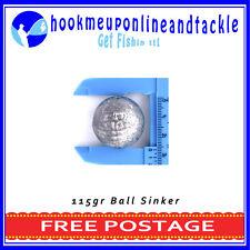 25 x Size 9A Ball Sinker Approx 115 grams Each Fishing Tackle Bulk