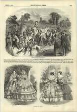 1857 Harvest Festival Lower Normandy Fashions For August