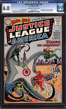 Brave and the Bold #28 Cgc 6.0 Dc 1960 1st Justice League Jla C12 111 1 cm