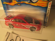 HOTWHEELS 2001 FIRST EDITIONS RED HONDA CIVIC Si ON CARD - SCALE 1/64 #027