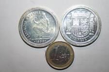 1 PESETA DE PLATA, 2ª REPÚBLICA, 1933 REPRODUCCI REAL CASA DE LA MONEDA F.N.M.T