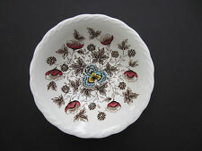 """Old Chelsea W.H. Grindley transferware ironware Staffordshire 6.75"""" bowl"""