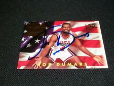 Detroit Pistons HOF Joe Dumars Auto Signed 1993/94 Fleer Ultra USA Card #362  N