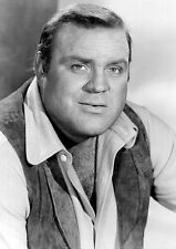 BONANZA TV SHOW *2X3 FRIDGE MAGNET* DAN BLOCKER HOSS CARTWRIGHT PONDEROSA WEST