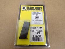 Colt Vest Pocket Prewar pistol 25 ACP magazine by Triple K - Model 15M