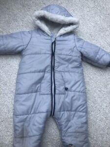 Absorba Designer Baby Boy Snowsuit 18 Months