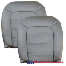 03-05 FORD Explorer Limited Driver Passenger GAS Bottom Leather Seat cover GRAY