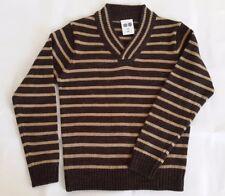 BD Kids Striped Brown / Beige Jumper 8-10 Years