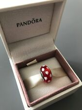 Small Red Loveheart Genuine PANDORA murano charm