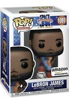 Funko Pop! Movies Space Jam, A New Legacy Lebron James Amazon Exclusive PREORDER