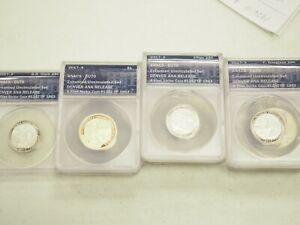 2017-S 225th Anniversary Enhanced Unc ANACS EU70 10 Coin Set Denver ANA Release
