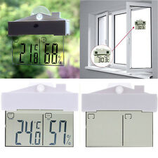 LCD Wireless Weather Station Clock Digital Thermometer Humidity Indoor Outdoor