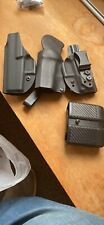 Lot of 3 Holsters and A Magazine Pouch Sig P365 Glock 43 Used