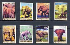 FRANCE REP GUINEE  2000  8 x  IMPERF  ELEPHANT   **  VF