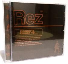 Rez Soundtrack  Gamer's Guide with obi Japan
