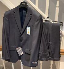 BNWT M&S Alfred Brown Saville Row Suit Chest 36M Dark Denim 30W 31L RRP £249 NEW