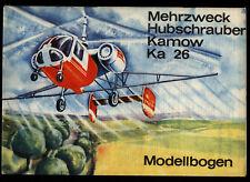 KRANICH 1970 - Mehrzweck Hubschrauber Kamow Ka 26