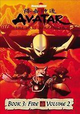 Avatar The Last Airbender Book 3 Fire Volume 2 DVD  L5