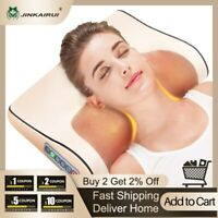 Electric Neck Shoulder Massage Pillow Kneading shiatsu Massager Pain Relief