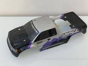 HPI Savage Truck Bodyshell Shell Silver Fits 21, 25, 4.6, X