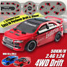 2.4G 4WD 50KM/H High Speed Drift Stunt RC Car Racing Remote Control Vehicle