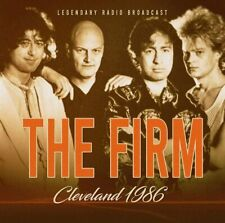 The Firm - Cleveland 1986 CD Laser Media
