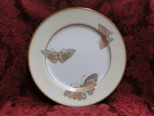 """Fitz & Floyd Papillon d'Orient, Butterfly, Gold Trim: Dinner Plate (s) 10 1/4"""""""