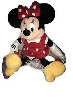 "Disney Minnie Mouse Plush Doll 17""Toy"