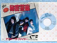 "AFTER THE FIRE Der Kommissar / Dancing In The Shadows 07.5P-219 JAPAN 7"" 097az43"