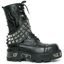 New Rock Boots M.262-S1 Laarzen Zwart Leer - Goth, Punk, Gothic Alternative