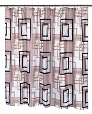 "New - Extra Wide Fabric Shower Curtain Lexington 108"" x 72"" Shower Curtain"