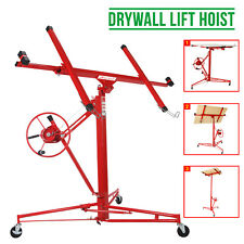 More details for 11ft lifter tool drywall hoist caster heavy duty plasterboard panel sheet crane