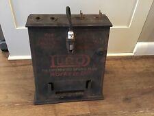 Duro Spark Plug 1920s Advertising Display Sign Tester Gas Station Garage