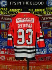 5/5 Eurajoen Lätkä adults M MINT #93 Peltomaa ice hockey shirt jersey top