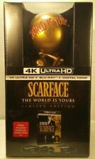 Scarface 4K Ultra HD + Blu-ray + Digital + World Is Yours Statue Limited Edition
