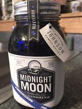 Junior Johnson's Midnight Moon Moonshine Blueberry Batch 1 Signed, Unopened