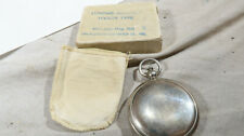 w WWII US Army Air Corps Force BOXED Longine's Witnauer Compass 1941 NAMED